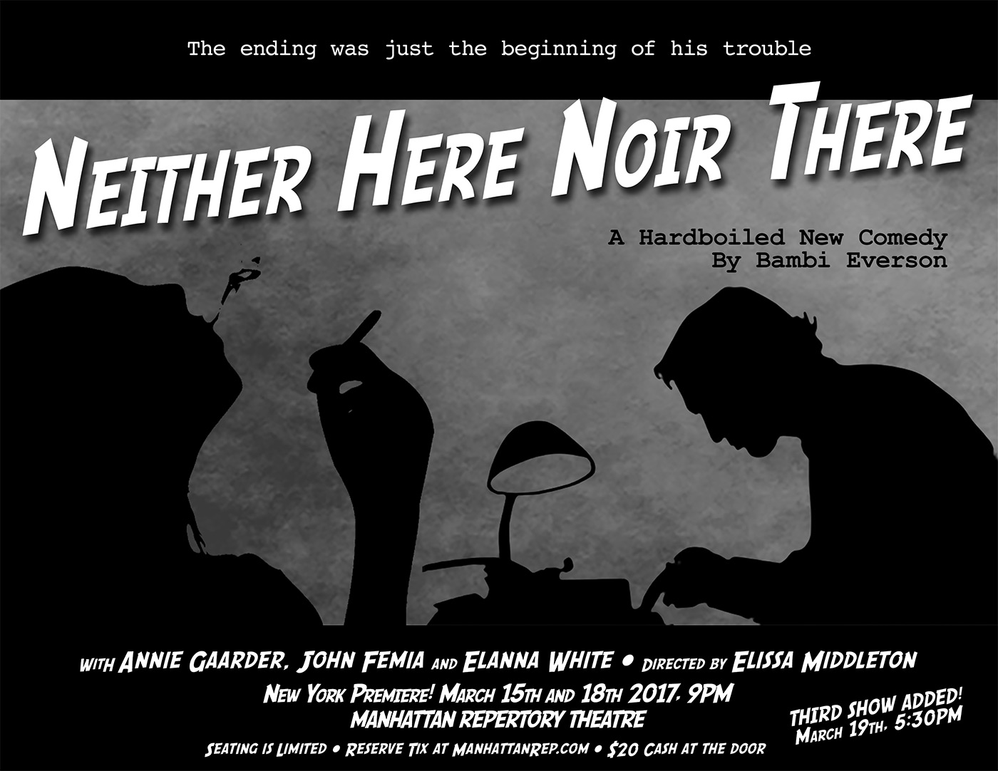 Neither Here, Noir There by Bambi Everson