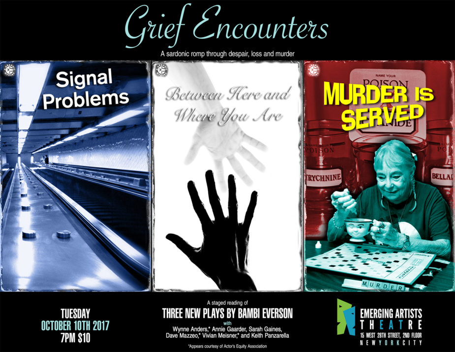 Grief Encounters triptych