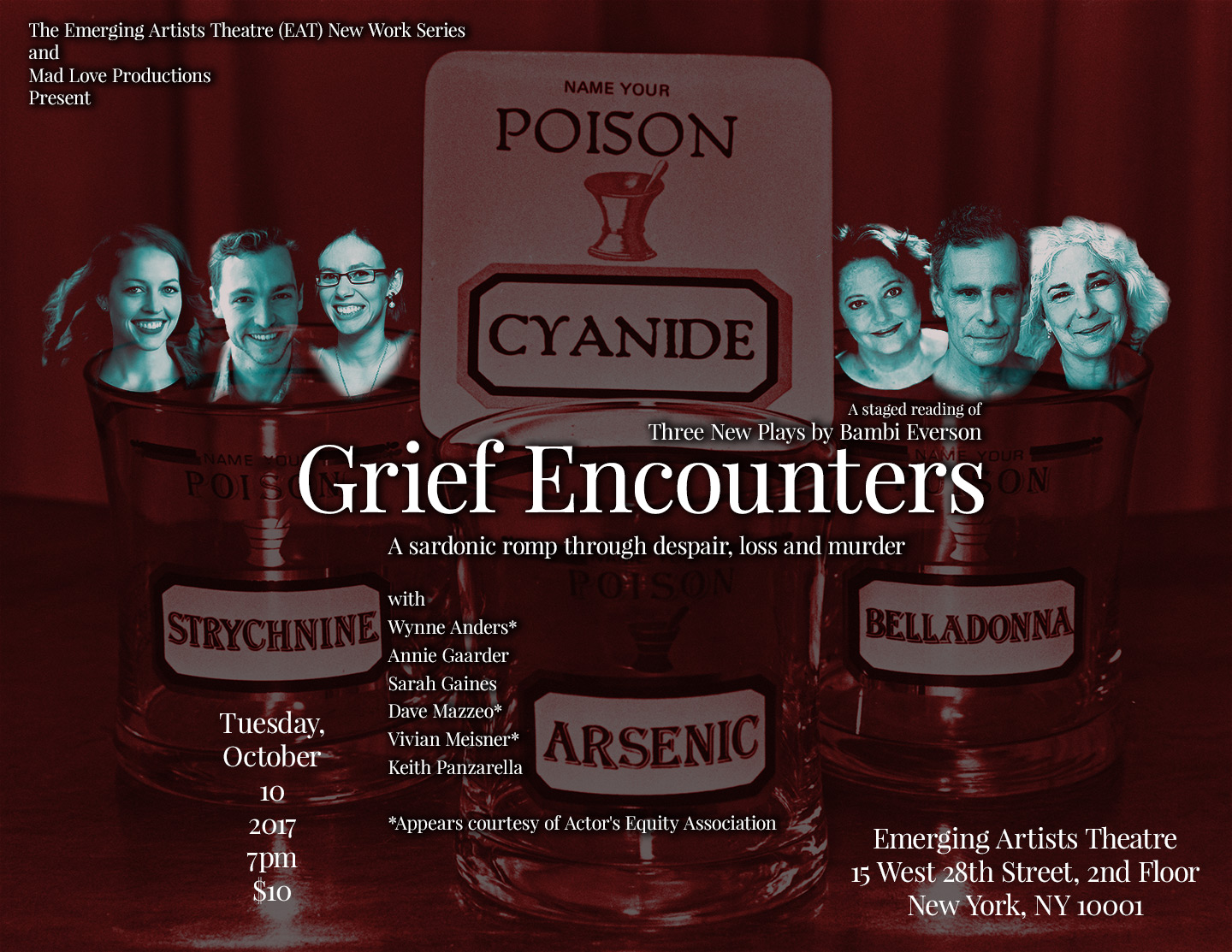 grief encounters poster