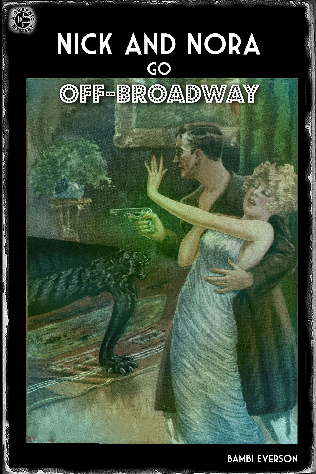 In this standalone sequel to The Thin Man In the Cherry Orchard, Anya convinces Nora to take part in an amateur theater production. As is par for the course, a murder takes place and Nick must solve the crime before opening night. Full length, approx. 100m, one intermission.